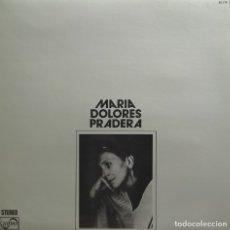 Discos de vinilo: ••MARÍA DOLORES PRADERA / LP ZAFIRO 1975. Lote 175535607