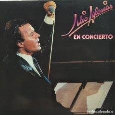 Discos de vinilo: •JULIO IGLESIAS EN CONCIERTO / DOBLE LP CBS 193. Lote 175537388