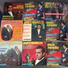 Discos de vinilo: LOTE DE SINGLE JUANITO MARAVILLAS. Lote 175537712