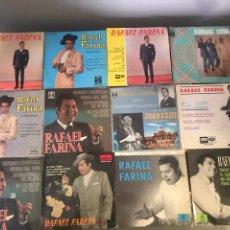 Discos de vinilo: LOTE DE SINGLE RAFAEL FARINA. Lote 175537810