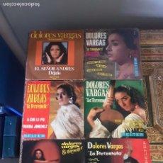 Discos de vinilo: LOTE DE SINGLE DOLORES VARGAS. Lote 175538079