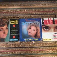 Discos de vinilo: LOTE SINGLE CONCHITA BAUTISTA. Lote 175538144