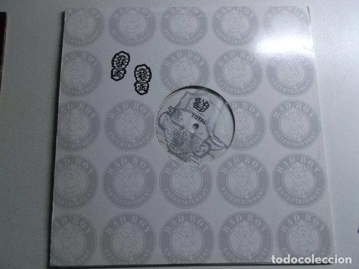 Discos de vinilo: Total – Trippin (Remix) What About Us (Remix) Sello Bad Boy Entertainment – BBD - Foto 4 - 175543799