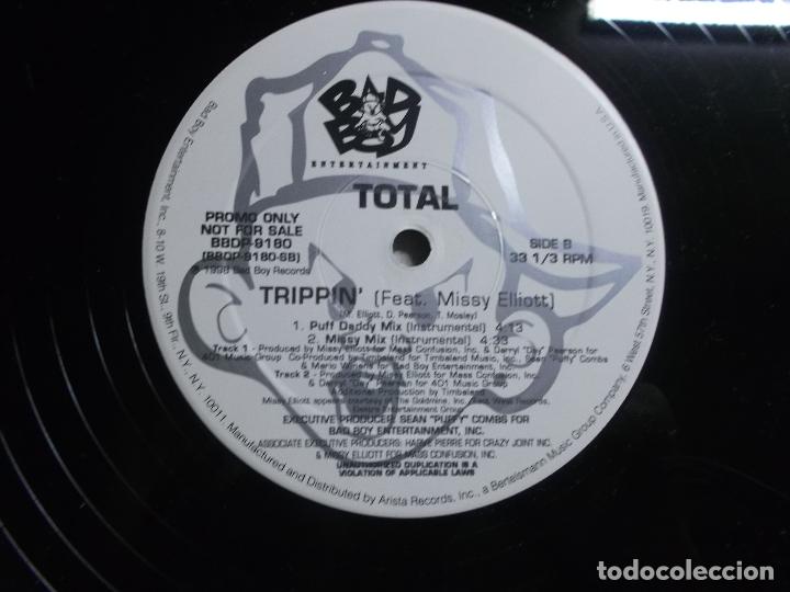 Discos de vinilo: Total – Trippin (Remix) What About Us (Remix) Sello Bad Boy Entertainment – BBD - Foto 6 - 175543799