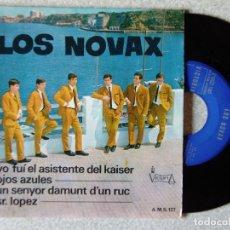 Discos de vinilo: LOS NOVAX.YO FUI EL ASISTENTE DEL KAISER + 3...EX. Lote 175546779