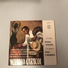 Discos de vinilo: MANOLO CARACOL. Lote 175551140