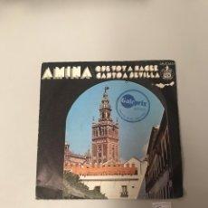 Discos de vinilo: AMINA. Lote 175551157