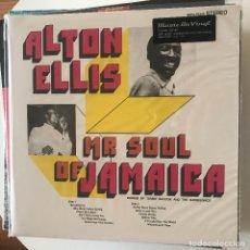 Discos de vinilo: ALTON ELLIS - MR. SOUL OF JAMAICA - LP REEDICIÓN MUSIC ON VINYL 2019 NUEVO. Lote 150067282