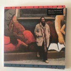 Discos de vinilo: TERRY CALLIER - FIRE ON ICE (1978) - LP REEDICIÓN MUSIC ON VINYL 2018 NUEVO. Lote 175568482
