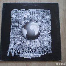 Discos de vinilo: LP. ARMED RELAPSE. INDUSTRIAL FILTH. POSTER + LETRAS. . Lote 175570242