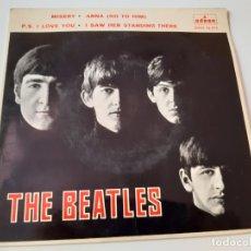 Discos de vinilo: THE BEATLES- MISERY - SPAIN EP 1964.. Lote 175573540