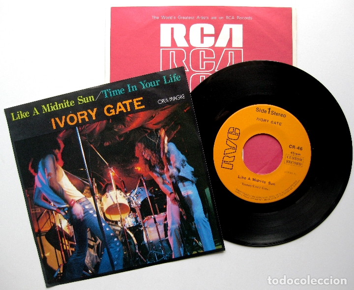 IVORY GATE - LIKE A MIDNITE SUN - SINGLE CUSTOM RECORD 1981 JAPAN (EDICIÓN JAPONESA) BPY (Música - Discos - Singles Vinilo - Heavy - Metal)