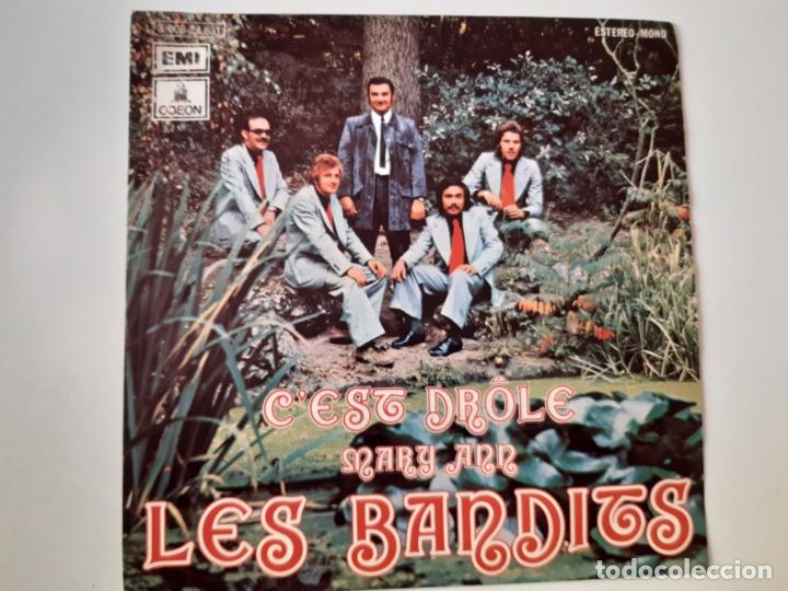 LES BANDITS- C´EST DROLE - SPAIN PROMO SINGLE 1973 - VINILO COMO NUEVO. (Música - Discos - Singles Vinilo - Canción Francesa e Italiana)
