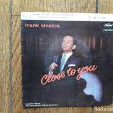 Discos de vinilo: FRANK SINATRA - CLOSE TO YOU + LOVE LOCKED OUT + THE END OF THE LOVE AFFAIR. Lote 175589073