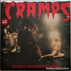Discos de vinilo: THE CRAMPS ROCKINNREELININAUCKLANDNEWZEALANDXX LP . GARAGE ROCKABILLY POISON IVY. Lote 175594184