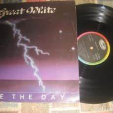 Discos de vinilo: GREAT WHITE - FACE THE DAY / HOLD ON( CAPITOL RECORDS -1986) OG ESPAÑA. Lote 175597910