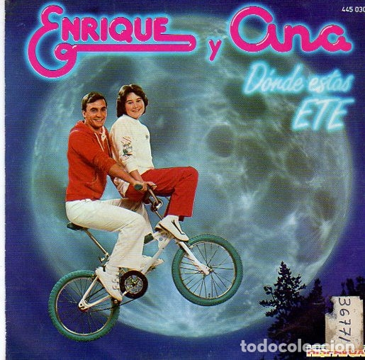 Discos de vinilo: ENRIQUE Y ANA - DONDE ESTAS ETE - SINGLE HISPAVOX 1983 - Foto 1 - 175598324