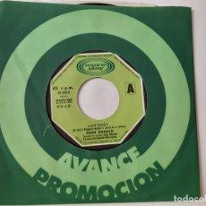 Discos de vinilo: TONY RONALD- LAZY DAISY - SINGLE PROMO 1973 - VINILO COMO NUEVO.. Lote 175599495