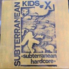 Discos de vinilo: DISCO LP VINILO SUBTERRANEAN KIDS DEMO SUBTERRANEAN HARDCORE EDICIÓN LIMITADA VINILO DE COLOR NUEVO. Lote 175601500