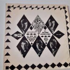 Discos de vinilo: LOS MUSTANG- LA LA LA - EP 1966.. Lote 175602517