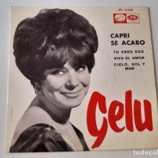 Discos de vinilo: GELU- CAPRI SE ACABO - EP 1965.. Lote 175607819