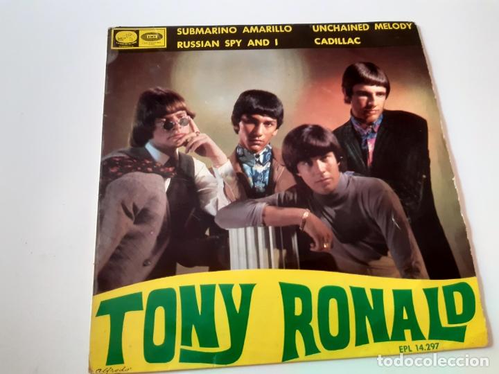 TONY RONALD- SUBMARINO AMARILLO - EP 1966- THE BEATLES. (Música - Discos de Vinilo - EPs - Solistas Españoles de los 50 y 60)