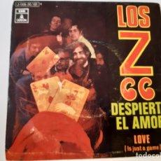 Discos de vinilo: LOS Z 66- DESPIERTA EL AMOR - SINGLE 1970.. Lote 175611303