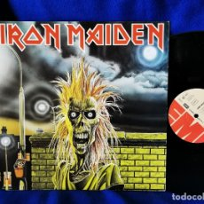 Discos de vinilo: IRON MAIDEN - IRON MAIDEN - LP 1980 - PRINTED IN GERMANY - VINILO EXCELENTE. Lote 174310419