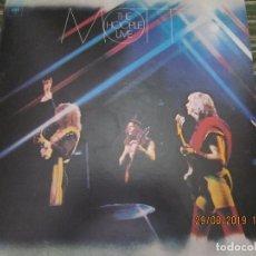 Discos de vinilo: MOTT THE HOOPLE - LIVE LP ORIGINAL U.S.A. - COLUMBIA 1974 CON FUNDA INT. ORIGINAL -. Lote 175618685