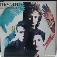 Discos de vinilo: MECANO - DESCANSO DOMINICAL (LP, ALBUM, DOU) (ARIOLA) (5F 209192) (ED ORIGINAL). Lote 175621183