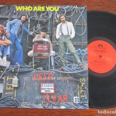 Discos de vinilo: WHO `WHO ARE YOU` 1978. Lote 175508948