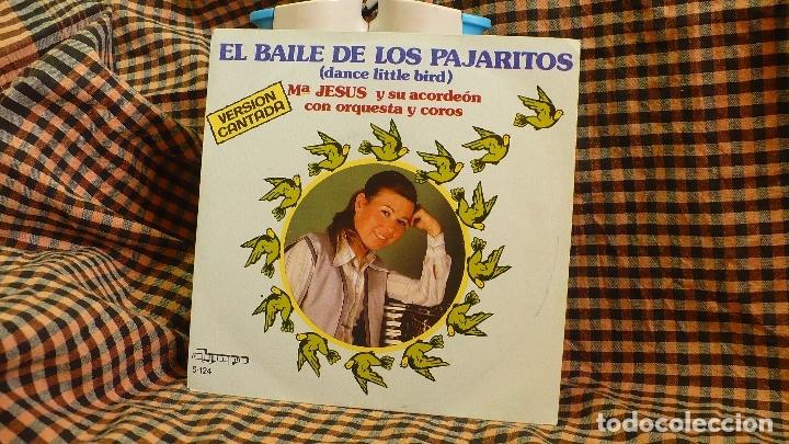 Mª JESUS Y SU ACORDEON, EL BAILE DE LOS PAJARITOS / BENIDORM BENIDORM, OLYMPO 1981. (Música - Discos - Singles Vinilo - Solistas Españoles de los 70 a la actualidad)