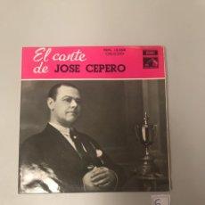 Discos de vinilo: JOSÉ CEPERO. Lote 175636154