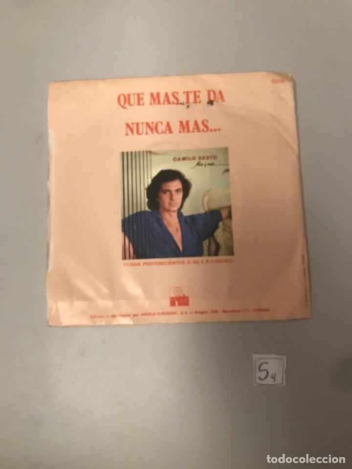 CAMILO SEXTO (Música - Discos - Singles Vinilo - Flamenco, Canción española y Cuplé)