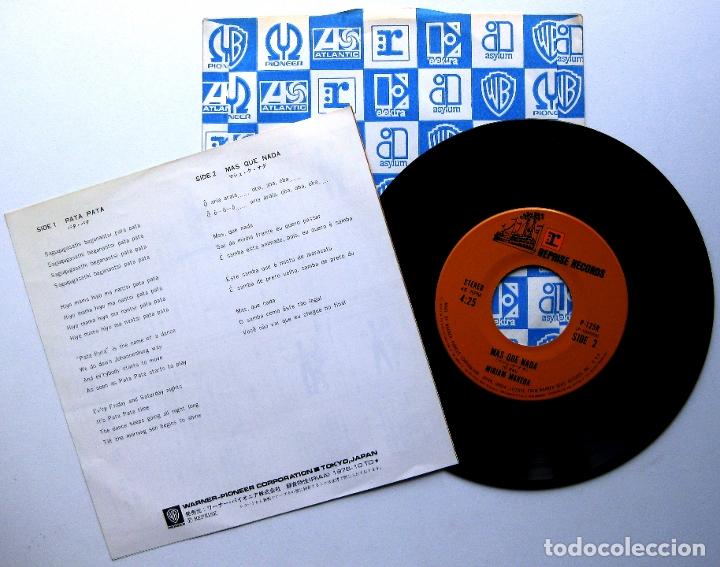 Discos de vinilo: Miriam Makeba - Pata Pata / Mas Que Nada - Single Reprise Records 1976 Japan (Edición Japonesa) BPY - Foto 2 - 175637665