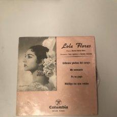 Discos de vinilo: LOLA FLORES. Lote 175637873