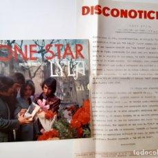 Discos de vinilo: LONE STAR- LYLA - SINGLE PROMO 1970 + HOJA PROMOCIONAL RADIO- VINILO COMO NUEVO.. Lote 175644684