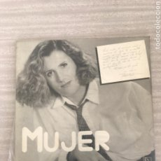 Discos de vinilo: MUJER. Lote 175656023