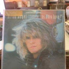 Discos de vinilo: LP ALISON MOYET - IS THIS LOVE. Lote 175657028