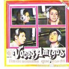 Discos de vinilo: DISCOS (VOCES AMIGAS). Lote 175666925