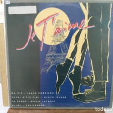 Discos de vinilo: MA VIE - CAPRI CÉST FINI, LA PLAGE, ALINE - MAXI SINGLE DEL SELLO RCA 1982. Lote 175667759