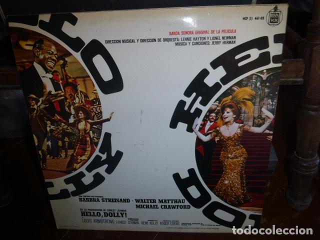 Discos de vinilo: LP BANDA SONORA DE LA PELICULA HELLO DOLLY.... - Foto 2 - 175669489