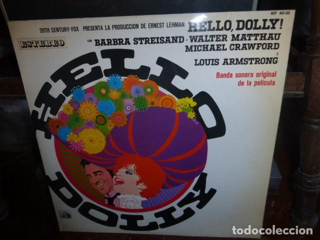 LP BANDA SONORA DE LA PELICULA HELLO DOLLY.... (Música - Discos - LP Vinilo - Bandas Sonoras y Música de Actores )