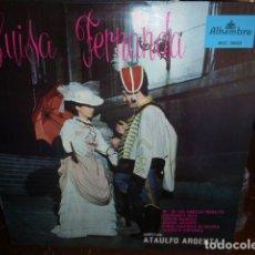 Discos de vinilo: LUISA FERNANDA LP. Lote 175671889