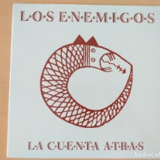 Discos de vinilo: ENEMIGOS - LA CUENTA ATRAS (LP) 1991. Lote 175672578