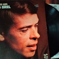 Discos de vinilo: LP VINILO JACQUES BRE: SÓLO HUBO UN JACQUES BREL, ESPAÑA 1978, BARCLAY ?– 17.1418/6, ENCARTE. Lote 175677210
