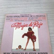 Discos de vinilo: MUJER DE ROJO. Lote 175680404