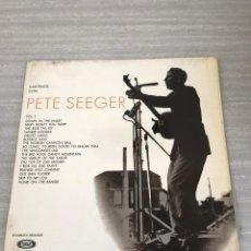 Discos de vinilo: PETE SEEGER. Lote 175683572
