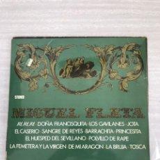 Discos de vinilo: MIGUEL FLETA. Lote 175686414