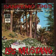 Discos de vinilo: LOS MUSTANG. FESTIVAL SAN REMO 1965. REGAL EMI EP. Lote 175687458